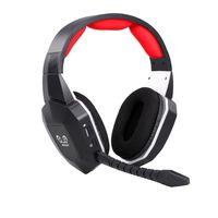 HW-N9U Kabelloses Gaming-Headset 2,4 GHz Optischer Gaming-Kopfhoerer Virtueller 7.1-Kanal-Surround-Sound-Gaming-Headset fuer PS4 / PC / Mac