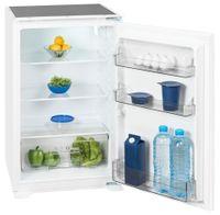 Exquisit Einbau-Kühlschrank EKS 131-4.2 RV | 130L Fassungsvermögen | Energieeffizenz+ | Weiß