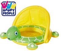 Happy People Schildkröte Babypool mit Sonnendach