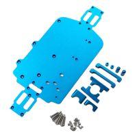 RC Ersatzteile Teile Metallchassis Fahrgestell für WLtoys 1:18 A949-A A949-B A959-A A959-B