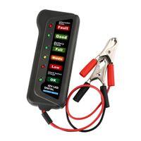 12V 6 LED Leuchten Digitaler Batterietester für Auto Motorradgenerator