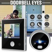 3'' LCD Kabellos Digital Türspion Ansicht 120° Tür Sicherheit Türklingel Video