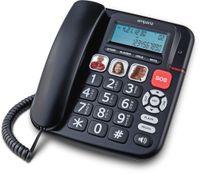 Emporia KFT19 Groß Tasten Senioren Festnetztelefon Freisprecher SOS Taste