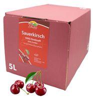 Bleichhof Sauerkirschsaft – 100% Direktsaft OHNE Zuckerzusatz, Bag in box (1x 5l)