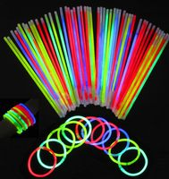 Seiler24 15 Stück Knicklichter extra lang und Leuchtstark!!