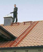 ZARGES Dachleiter 2,8 m Anthrazitgrau 10 Sprossen