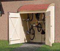 Weka Fahrradgarage / Mehrzweckbox 394 19 mm natur 175x140cm