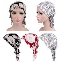 3 Stücke Damen Herren Kopftuch Stirnband Piratenhut Seide Kopfbedeckung Chemo Strand Tuch Turban Hijab