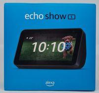 Amazon Echo Show 5, 2. Generation (2021) Smart Display mit Alexa, 2-MP-Kamera - Schwarz