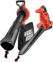 Black & Decker 3-in-1 Set Elektro-Laubsauger - Leistung: 3000 Watt; GW3030