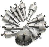 12pcs  Lochsäge Bohrkrone Kreisschneider Dosenbohrer Lochbohrer 1550mm  Hartmetall für Edelstahl Metall