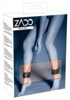 ZADO Fußfessel - Farbe: schwarz - Größe: unisize