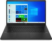 HP 17-cp0617ng Notebook 17,3 Zoll HD+ 8GB RAM 1TB HDD Windows 10 Home Schwarz