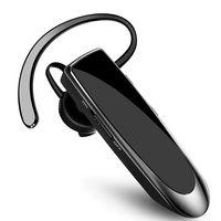 Handy Bluetooth-Headsets für EIN Ohr, Dual-Mik+ CVC6.0 Rauschunterdrückung 24H Bluetooth Headset Handy Wireless Headset Bluetooth Freisprechen Kopfhörer in Ear Bluetooth Headset für Business
