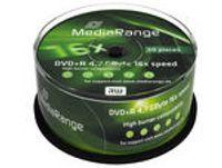 MediaRange - 50 x DVD+R - 4.7 GB 16x - Spindel