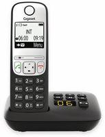 Gigaset A690 A schwarz mit Anrufbeantworter - Basisstation - Anrufbeantworter Gigaset