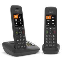 Gigaset C575 A Duo schwarz - Telefon - Anrufbeantworter Gigaset