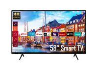 Telefunken XU58K700 58 Zoll Fernseher/Smart TV (4K Ultra HD, Triple-Tuner, HDR Dolby Vision) - 6 Monate HD+ inklusive