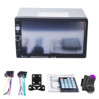 7023B 7 Zoll Full HD 2 DIN Auto Bluetooth Touchscreen Stereo Radio MP5 Player - mit Rückfahrkamera