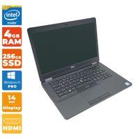 Dell Latitude E5470 Notebook   Intel i5- 6.Gen CPU   4GB DDR4 RAM   256GB SSD   Full-HD   WWAN