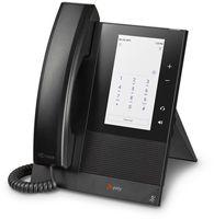 Poly CCX 400 - Schwarz - Kabelgebundenes Mobilteil - Android - IPS - 720 x 1280 Pixel - 9:16