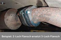 HJS Flansch Abgasrohr