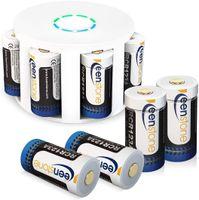 Arlo Akkus, Keenstone 8 Stücke 3.7V 700mAh Arlo Kamera Akkus mit Batterie Gehäuse/Kamera Hülle
