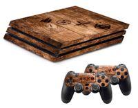 Hama - 54465 Design-Skin Wood für PlayStation 4 PRO