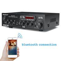 MECO HiFi bluetooth Audio Amplifier Verstärker Stereo USB Lautsprecher 12V/220V 1200W