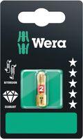Wera Bit PH Größe 2 Länge 25mm 1 / 4 Zoll 6-kant C6,3 BiTorsion diamantbeschichtet Karte mit 1 St. 851 / 1 BDC SB - 5073333001