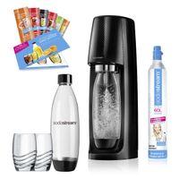 SodaStream Easy Vorteilspack, Farbe Schwarz