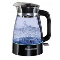 Russell Hobbs 26080-70 Classic Glas-Wasserkocher schwarz, Farbe:Glas-Wasserkocher