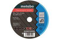 Metabo 76 mm Trennscheibe Flexiarapid Super Inox, 5 Stück