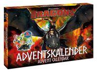 Dragons Adventskalender mit 3D-Figuren