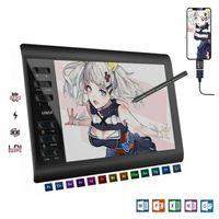 Grafiktablett Drawing Tablet mit Neigungsfunktion Mobiles Zeichentablett für Fotobearbeitung Fernunterricht Home-Office