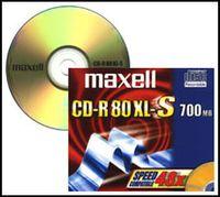 Maxell CD-R80 XL II 700MB Audio-CD-R, 700 MB, 80 min, 1 Stück