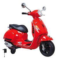 Jamara Ride-on Kinder Elektro Roller Vespa rot 12V