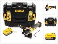 DeWalt DCG 406 NT Akku Winkelschleifer 18V 125mm Brushless + 1x Akku 5,0Ah + TSTAK - ohne Ladegerät