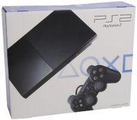 PlayStation 2 - PS2 Konsole Slim, black (inkl. Dualshock Controller)
