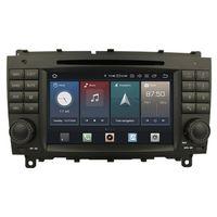"""7"""" Touchscreen Android Autoradio DVD USB Navigation für Mercedes Benz CLK W209"""