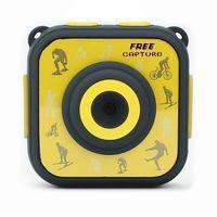 Sportkamera mit Zubehör Denver Electronics ACT-1303 1280 x 720 HD Gelb