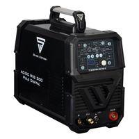 STAHLWERK AC/DC WIG 200 Puls D schwarz digitales Schweißgerät 200 Ampere WIG MMA Job Speicher