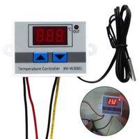 AC 220 V 10A LED Digital Temperaturregler Thermostat Steuerschalter w Sonde
