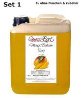 Exotischer Mango Balsam Essig 5L mit 43% Fruchtmark  vollfruchtig & sehr mild
