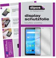 2x Lenovo Tab M7 Schutzfolie klar Displayschutzfolie Folie Display Schutz dipos