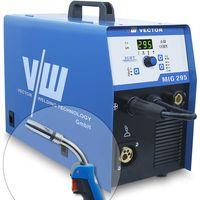 Schweißgerät VECTOR MIG295 Schutzgas MIG/MAG/WIG/MMA/Flux/FüllDraht  Kombi  Welder 15KG 400V