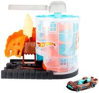 Hot Wheels Eismaschinen Rampe Spielset inkl. 1 Spielzeugauto