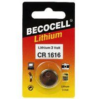 CR1616 Becocell Lithium Batterie IEC CR1616 mit 3 Volt und 55mAh