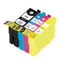 XXL Tintenpatronen Set kompatibel mit Epson  T3581-T3584, T3591-T3594, T35 XL Black, Cyan, Magenta, Yellow, T3586, T3596 - Passend für die Drucker Epson WorkForce Pro WF-4720 DWF, WF-4725 DWF, WF-4730 DTWF, WF-4735 DTWF, WF-4740 DTWF