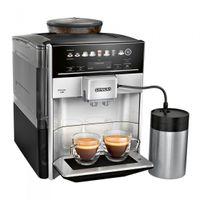 Siemens EQ.6 TE653M11RW, Espressomaschine, 1,7 l, Kaffeebohnen, Eingebautes Mahlwerk, Silber